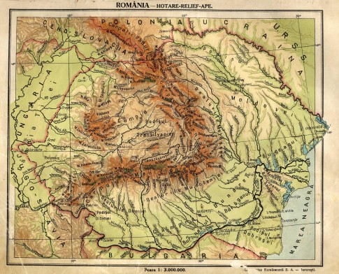 greater_romania_physical_map
