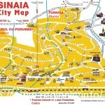 Sinaia Resorts (Romania) - City Map