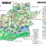 Judetul Sibiu - harta calitatii mediului