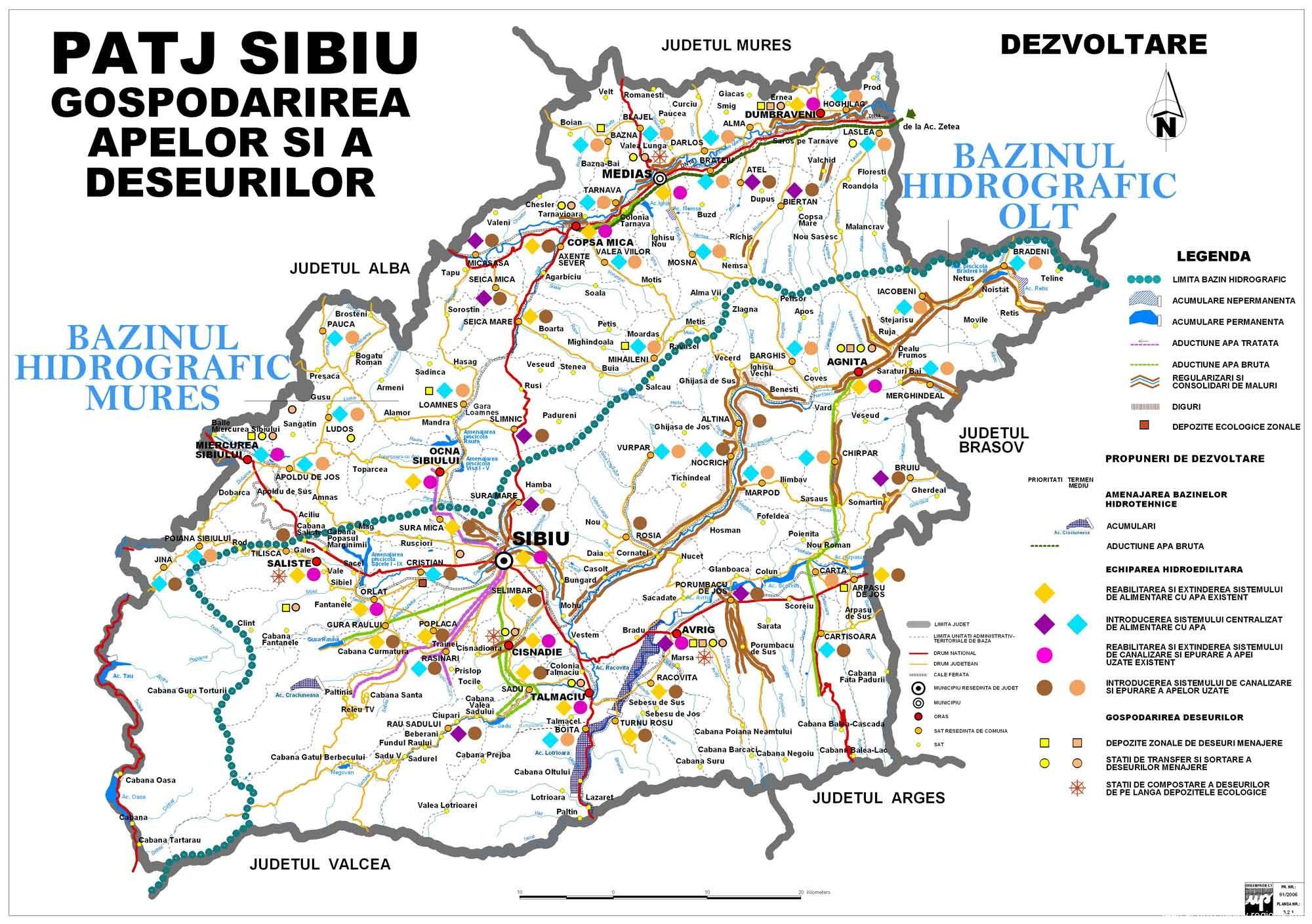 Judetul Sibiu Harta Depozitelor De Deseuri Harti Wansait Com