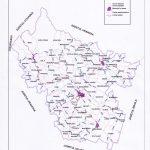 Judetul Buzau - harta administrativ teritoriala