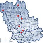 Harta judetului Prahova