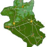 Harta turistica Valea Cricovului (Mizil), judetul Prahova