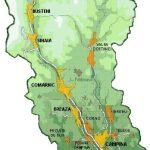 Harta turistica Valea Prahovei si Valea Doftanei