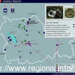 Judetul Neamt - Harta interactiva administrativa, turistica, rutiera si feroviara